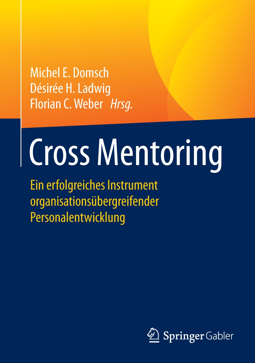 Buchcover CrossMentoring Springer